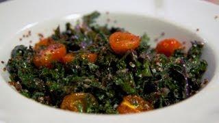 Healthy Kale And Quinoa Salad Recipe