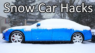 homepage tile video photo for 10 Winter Car TIPS & TRICKS you NEED to Know
