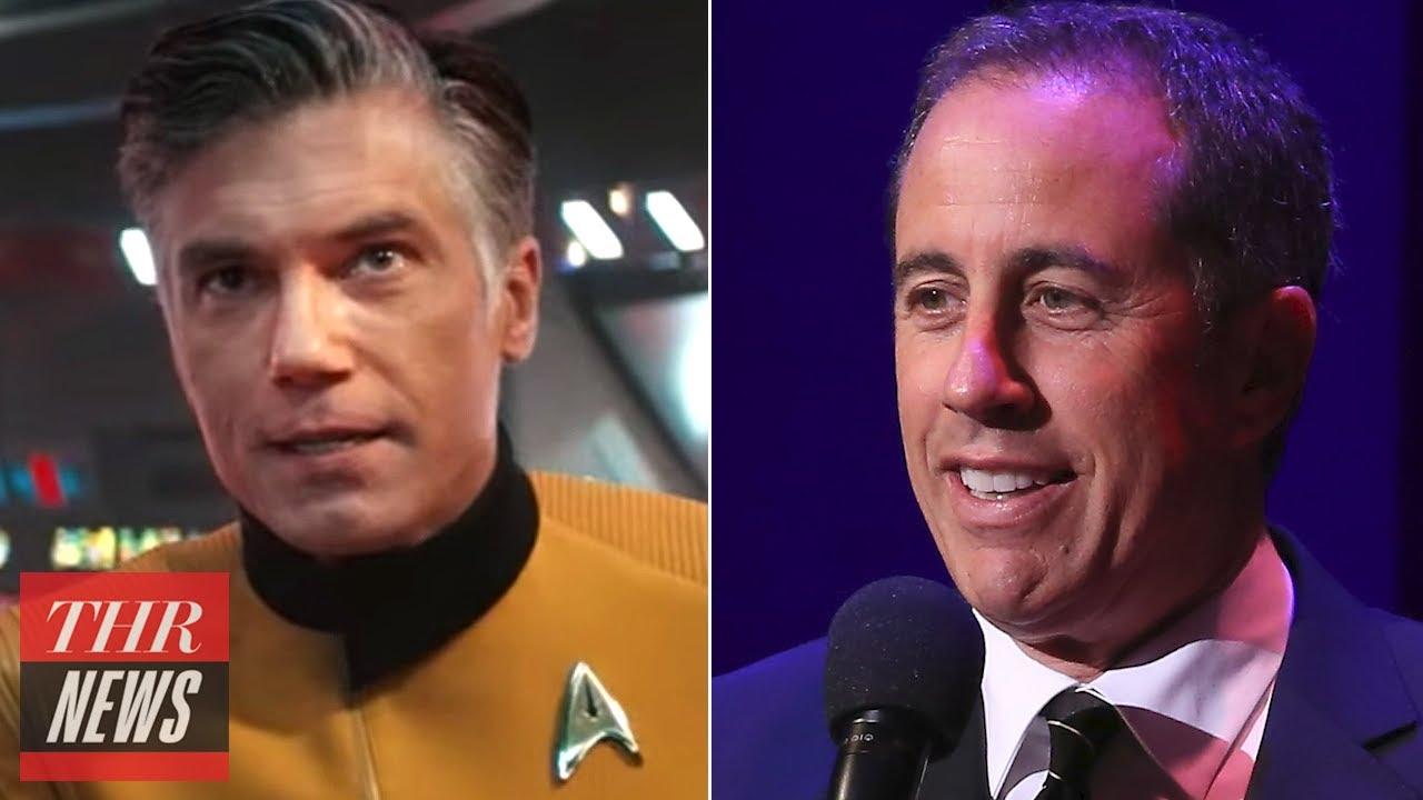Pike & Spock Get Their Own 'Star Trek' Series,  Jerry Seinfeld Remembers Jerry Stiller | THR News