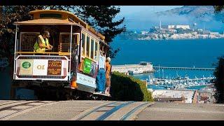 cable car. Сан Франциско