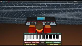 Suika Ibuki's Theme/Broken Moon - Touhou: Scarlet Weather Rhapsody by: ZUN on a ROBLOX piano.