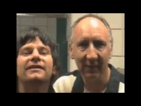 """Pete Townshend complete """"The Who"""" Video Tour Diary 2000"""