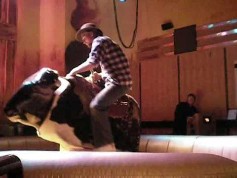 Bull Riding At Dallas Country Bar