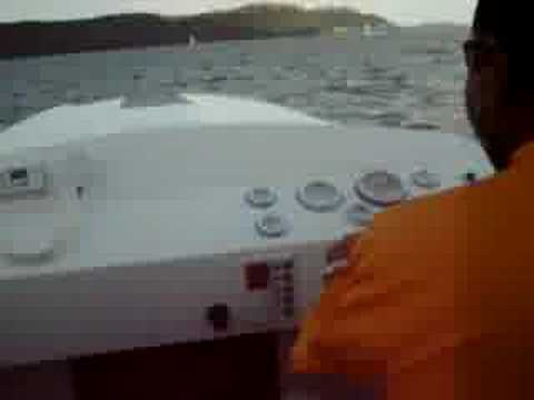 Fast boat Monza 24 offshore