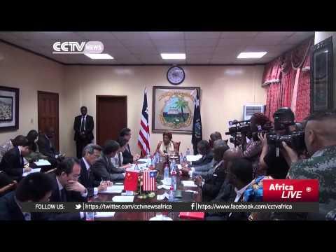Ellen Johnson Sirleaf speaks on Liberia's post-Ebola development