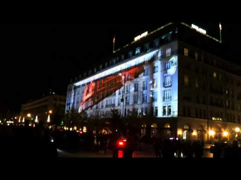 Festivals of Lights 2012 Berlin Hotel Adlon VW@ Live Show