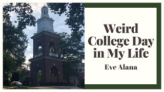 A Weird and Incomplete College Day in My Life (at UMW!!!)