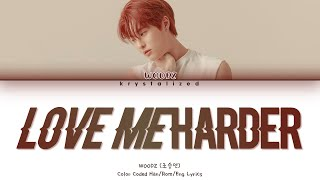 Gambar cover WOODZ (조승연) - Love Me Harder (파랗게) [HAN|ROM|ENG Color Coded Lyrics]