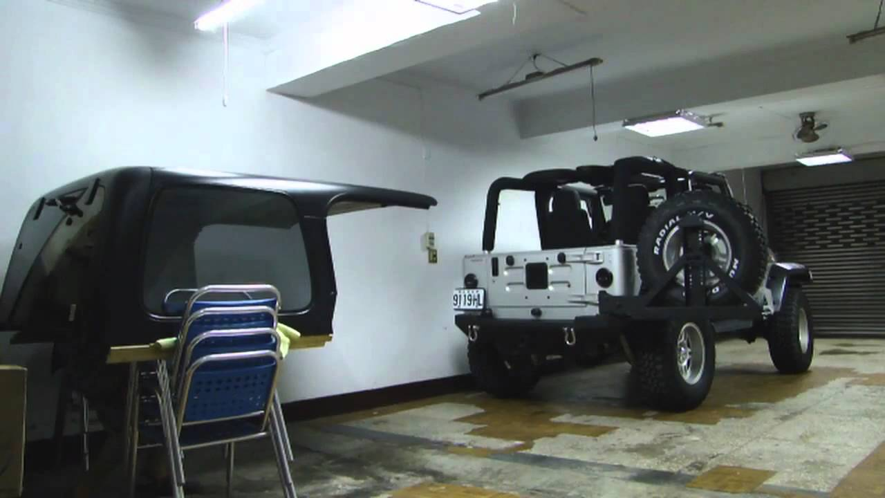 Hard Top Removal And Installation Youtube Yj Wrangler Hardtop Wiring Diagram