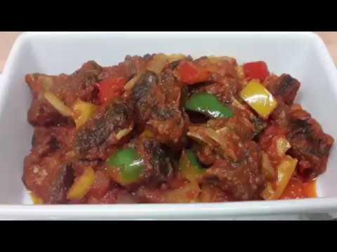 How I Make My Goat Meat Pepper