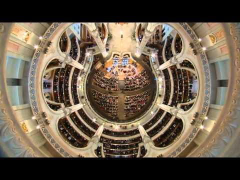 "Frauenkirche Dresden J.S.Bach WO BWV 248 Teil 6 Nr. 54 Chor "" Herr wenn die stolzen Feinde"""