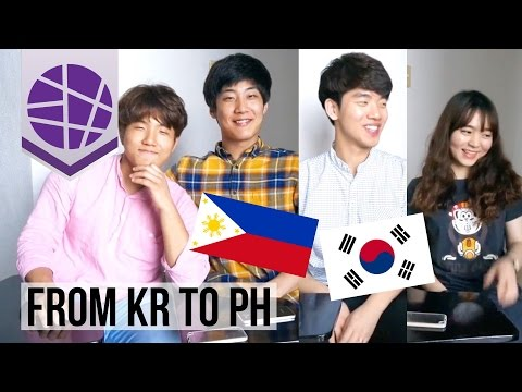 Korean university students' thoughts on the Philippines | EL's Planet