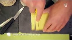 France 2. C'est au programme. Savez-vous couper le fromage ?