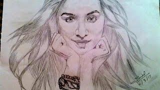 Shraddha Kapoor's sketch