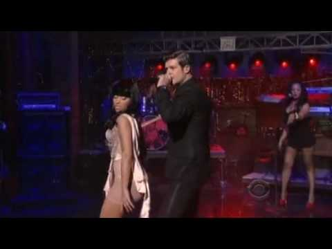 Robin Thicke  Shakin It 4 Daddy feat Nicki Minaj David Letterman