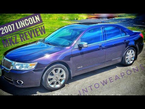 2007 Lincoln MKZ:  Review & Walk Around