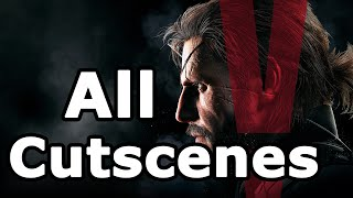 Metal Gear Solid 5: The Phantom Pain All Cutscenes - Game Movie (Main Story)