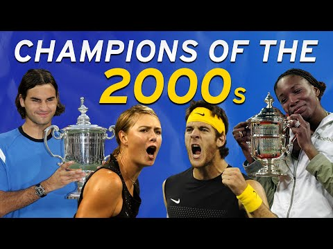 US Open Champions Of The 2000s