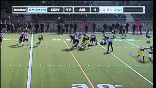 FB: Dinos-Bears Highlights - Oct. 12, 2012