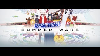 Summer Wars Anime Movie  (BLIND) REACTION! Wow! Just.............WOW!
