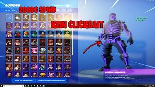 I buy a *ZUFÄLLIGEN* OG Fortnite account for 9,95€ and got that.. 🧟 ♀ (OG SKULL...)
