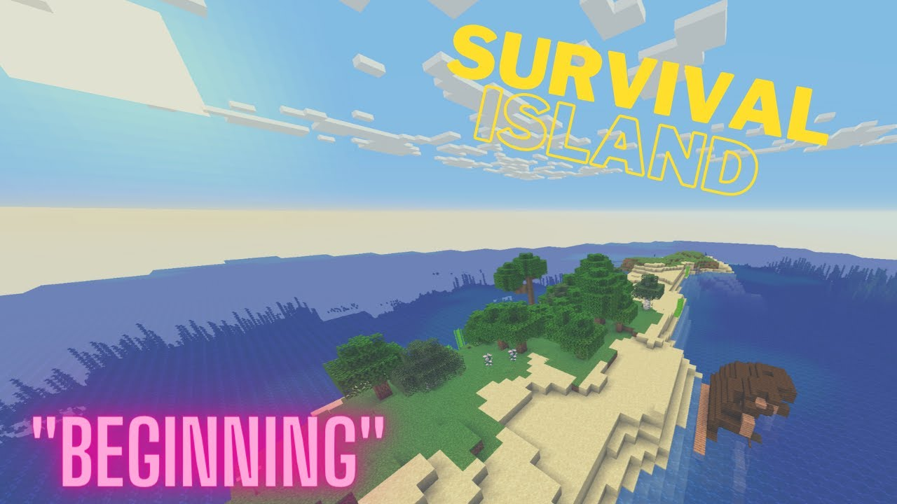 Minecraft Survival Island Timelapse: Getting Started (Part 1)
