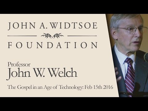 Jack Welch: The Gospel in an Age of Technology