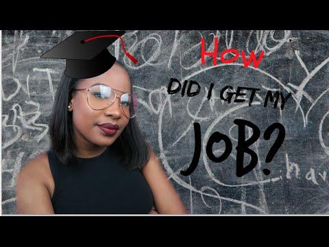 HOW DID I GET MY JOB?   RENEE SCARLETT