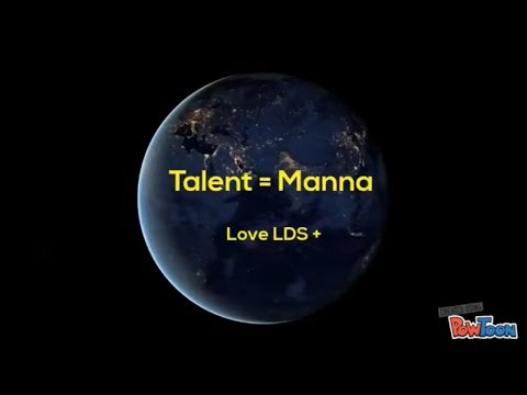 LDS - Talent = Manna - Moses - Bible Study