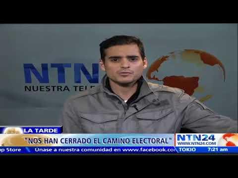 """""""Elecciones han sido un golpe político para la unidad democrática en Venezuela"""": Armando Armas"""