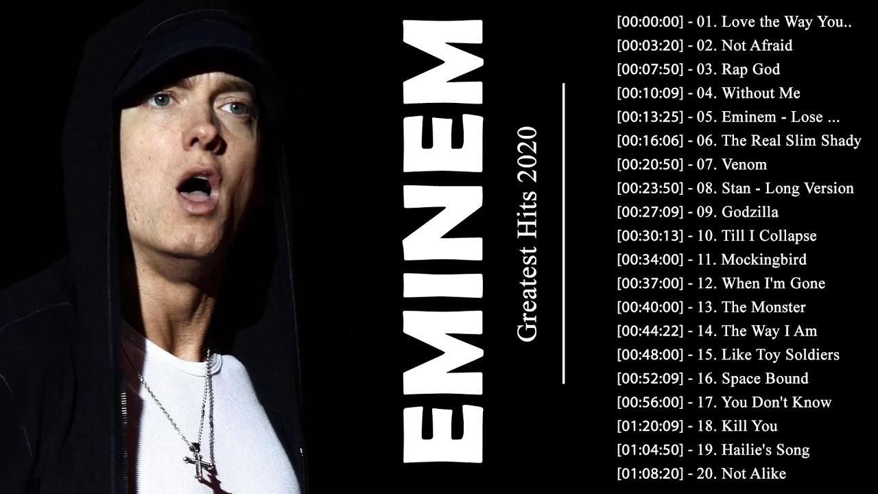 Best Eminem Songs Of All Time   Eminem Greatest Hits Album 2021