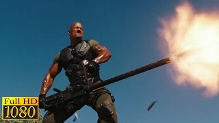 G.I. Joe Retaliation (2013) - Roadblock vs Firefly  Uncut  scene (1080p) FULL HD