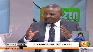 NEWS GANG | This man Professor George Magoha
