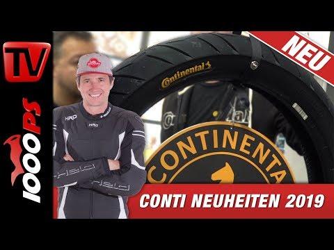 Conti Motorradreifen Neuheiten 2019 - Conti Trailattack 3 und Scooterpneu
