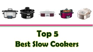 Best Slow Cookers | Top Crock Pots | Best Slow Cooker With Timer
