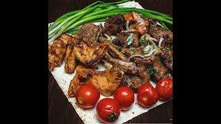 Мясное меню: блюда из курицы и говядины.Подборка рецептов из мяса.