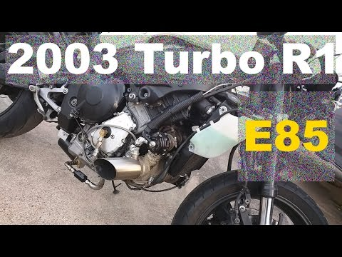 Turbo 2003 R1 first street ride on E85 (uncut long version)
