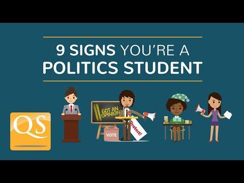 9 Signs You're a Politics Student