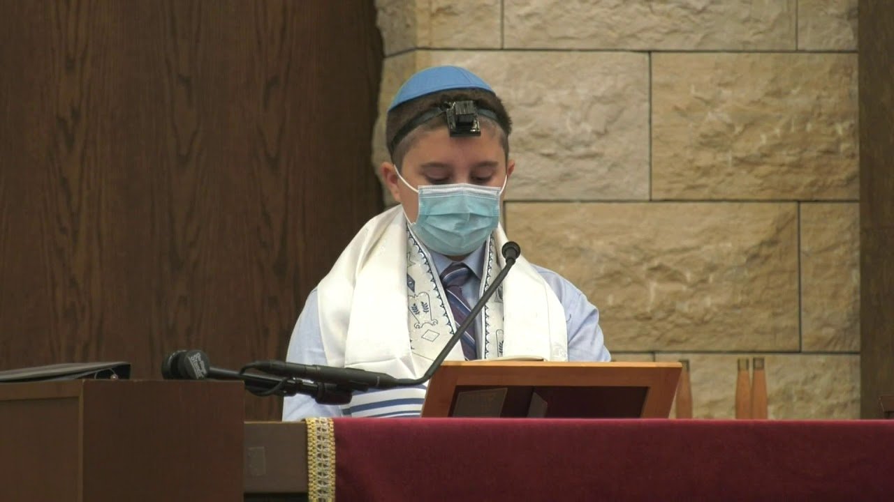 Joshua's Live Stream Bar Mitzvah Edited