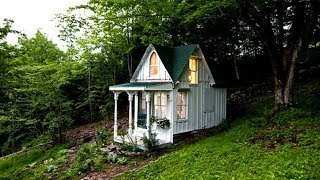 Tiny Cabins in the Woods | Cute Little Cabins in The Woods