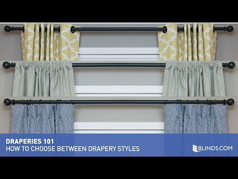 How to Choose Between Drapery Styles | Blinds.com