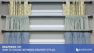 How to Choose Between Drapery Styles   Blinds.com