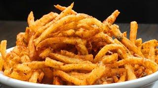 Potato Kurkure At Home  Evening Snacks Recipe  Snack Recipes in Lockdown