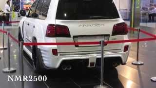 اسعار لكزس سوبر شارج انفيدر 600 حصان  INVADER L60  Lexus LX 570  600HP