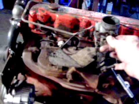 Chevy 292 first startup... - YouTube