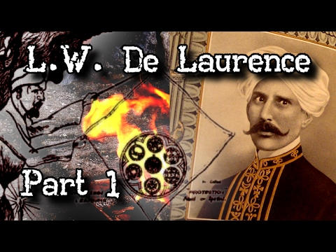 Download L.W. De Laurence (Part 1) Occultist Magician Magic Handkerchief Story Occult Unmasked John Razimus
