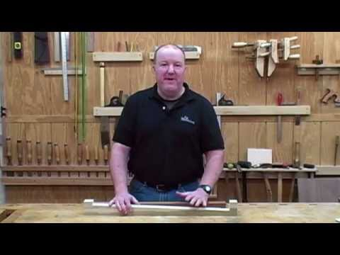 How To Taper A Furniture Leg Youtube