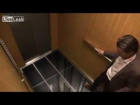Ютуб про людей в лифте скрытая камера