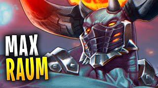 RAUM MAX IGNITION IS BEEFY! | Paladins Gameplay