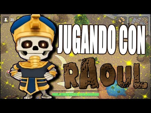 ¡REVENTANDO CALVOS CON RAOUL EL FARAÓN! - BATTLELANDS ROYALE